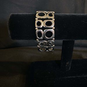 Lia Sophia Mercury Silver Stretch Bracelet